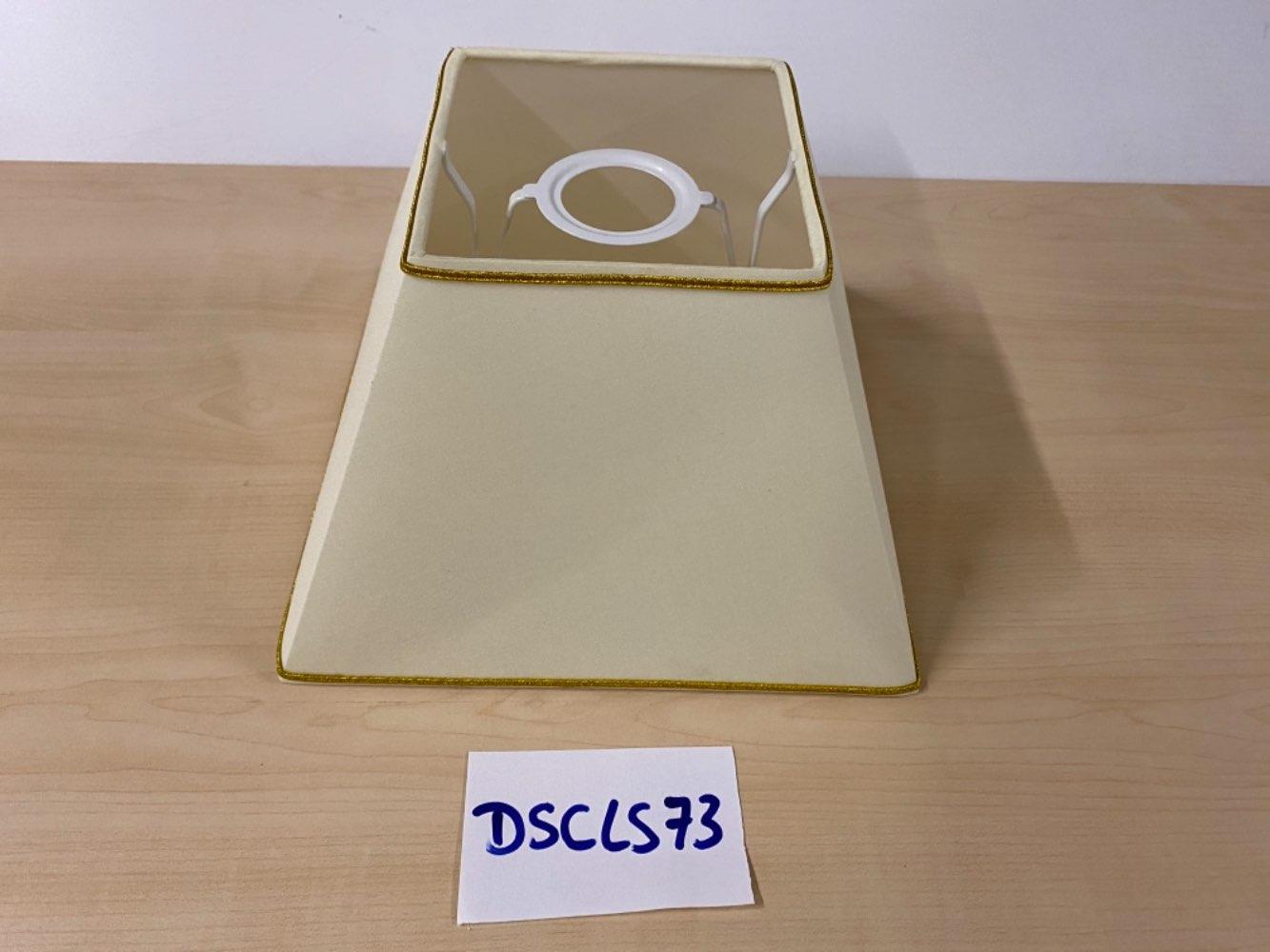 Lampenschirm Sorpetaler beige Gold statt 35€