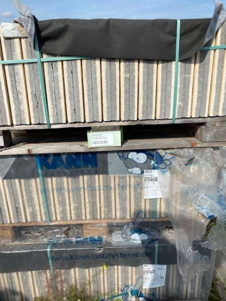 Sincera Terrassenplatten 40x40x3,8 cm creme/beige strukturiert (2.Wahl)