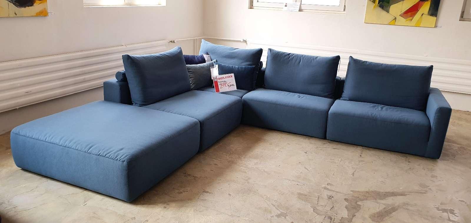 Sofa Loft – Bigsofa blau