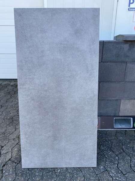 XETON  Platten 120x60x2 cm sichtbeton grau – strukturiert (2.Wahl-Sonderposten)