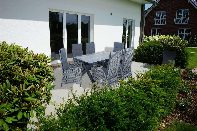 Gartenmöbel-Set, 13-tlg.