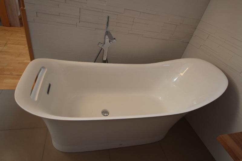 Badewanne weiß retoure