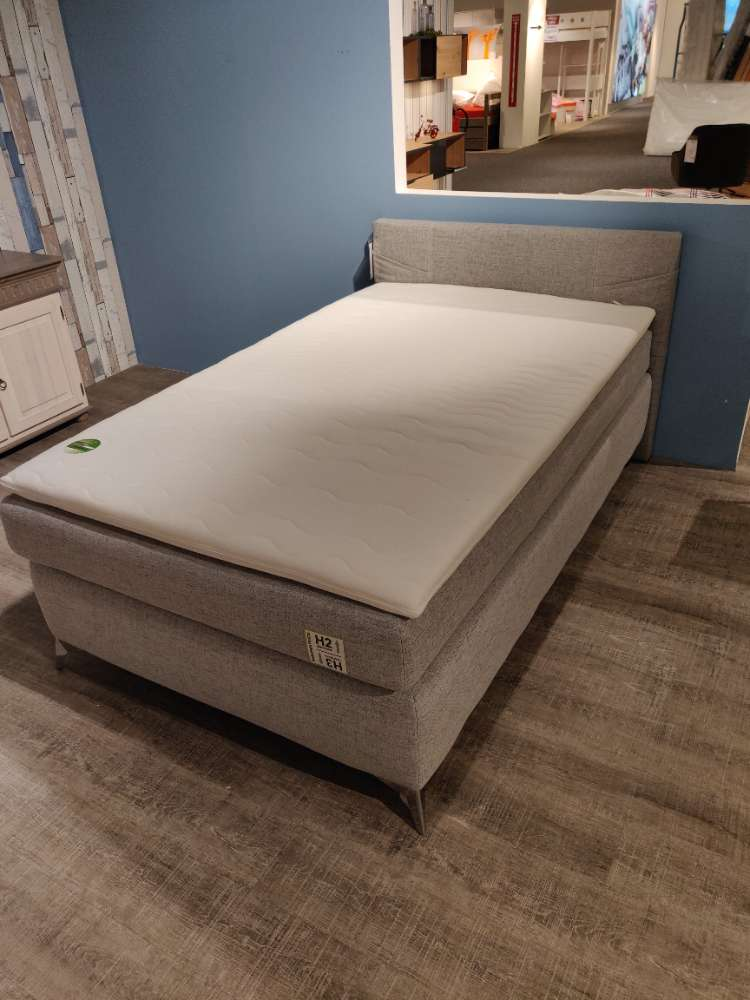 Boxspringbett – Bett – Polsterbett – 120 x 200 cm – Lagermodell