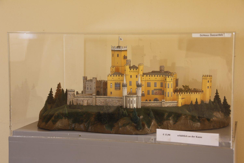 Kartonmodell Schloss Stolzenfels