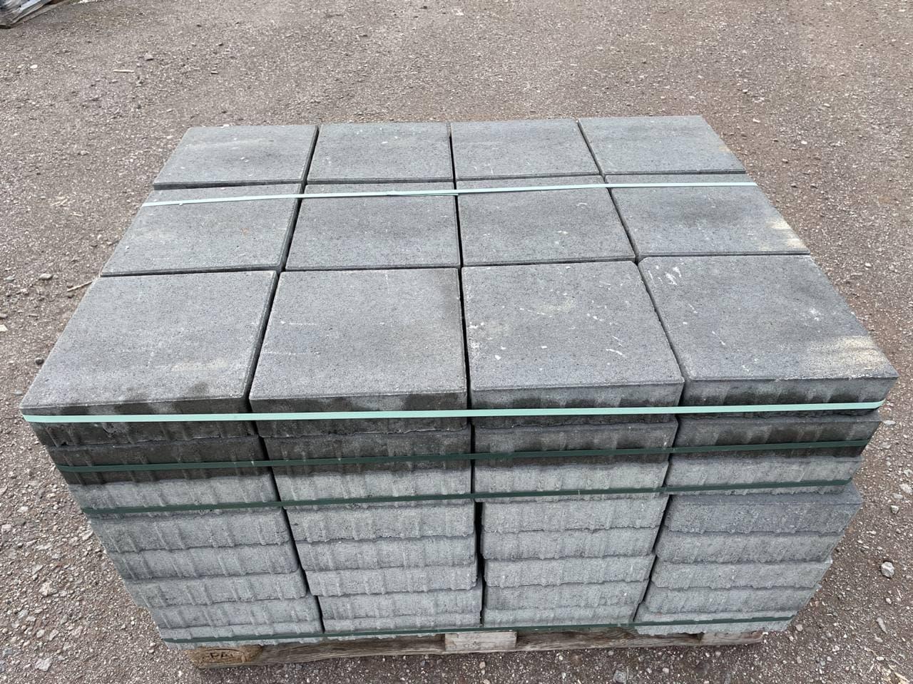 AQUA-Line Fugen-Pflaster 30x30x8 cm anthrazit (8 mm Fuge) (2.Wahl)